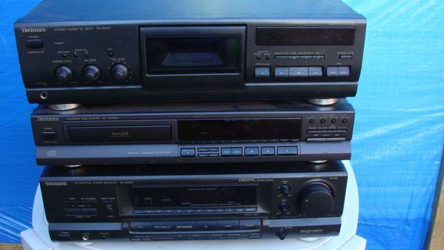 Wieża Technics CD magnetofon amplituner