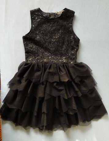 Нарядное праздничное шикарное платье НМ 11-12 лет