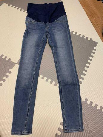 H&M mama jeansy super skinny ciążowe rozmiar 40
