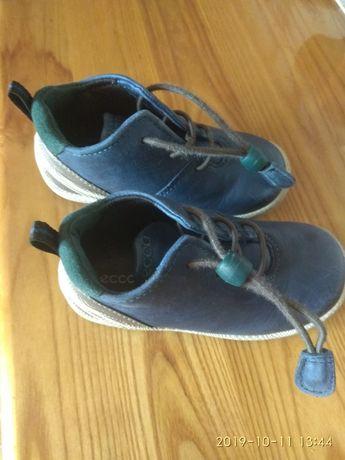 ECCO BIOM rozmiar 23 buty skórzane buciki dziecięce chłopięce