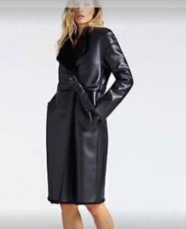 Пальто  Guess Marciano   EUR 42   XL   двухсторонее, PU кожа, США