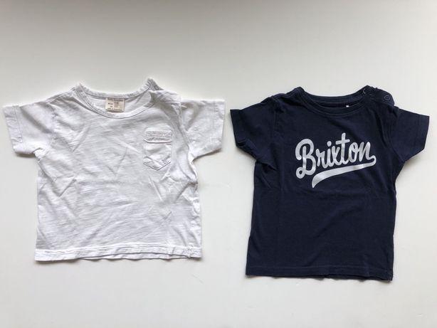 Zestaw koszulek Zara i Reserved  t-shirts rozmiar 68/74
