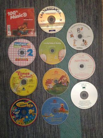 vários CD música para crianças originais