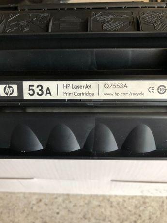 Картридж HP Q 7553 A (оригинал)лазерного принтера HP LaserJet P2015n