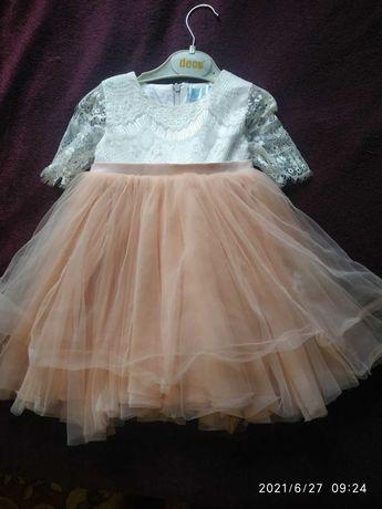 Дитячі сукні. Фемілі лук