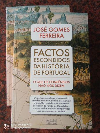 Factos Escondidos da História de Portugal - de José Gomes Ferreira