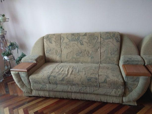 М'яка частина (диван і два розкладні крісла)