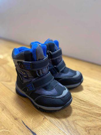 Термо ботинки зима
