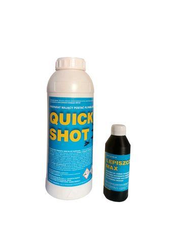 QUICK SHOT profesjonalny oprysk na komary i kleszcze 250 ml