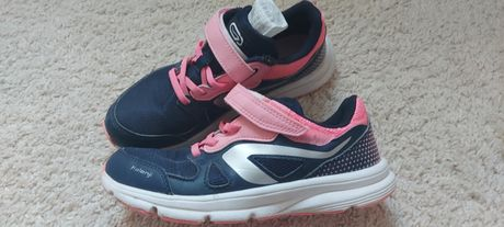 Buty dla dziewczynki Kalenji Ekiden Active Decathlon rozmiar 33