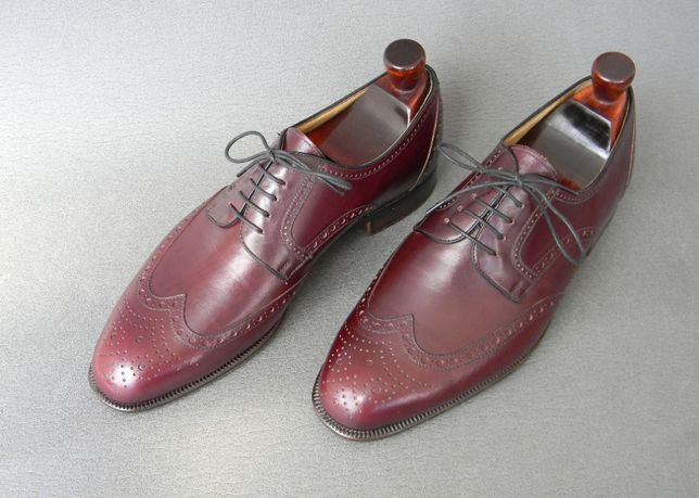 Туфли броги Moreschi, Made in Italy. (не Santoni Testoni Stemar)