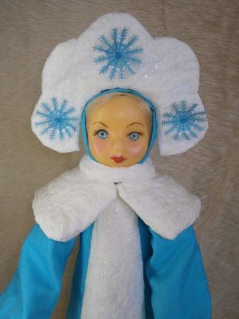 Кукла советская СССР большая СНЕГУРОЧКА 64 см под елку