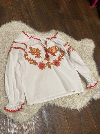 Детская рубашка вышивка