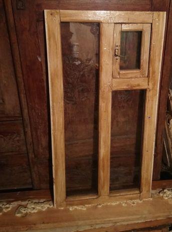 Продам окна (2),деревянные и подоконник