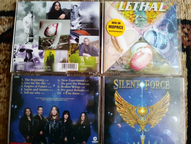 Silent Force-The Empire of Future i Lethal-Poison Seed