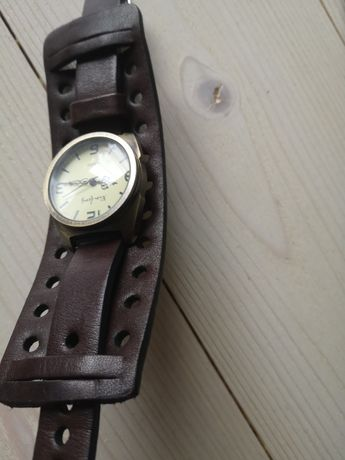 Pasek na zegarek skórzany