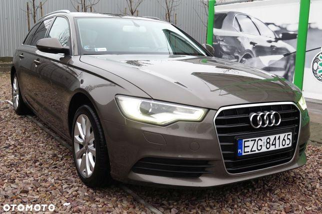 Audi A6 2.0 Diesel LED * Bixenon Navi Czujniki Skóra Grzane fotele