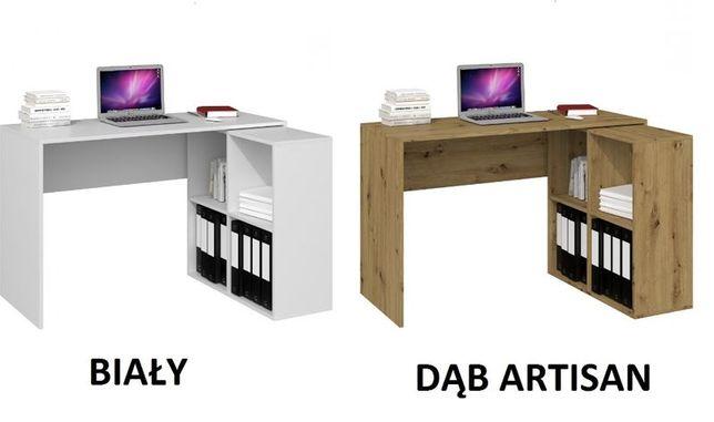 MALAX / BIURKO z komodą na laptop / 3 kolory / 50x120 / ARIES MEBLE