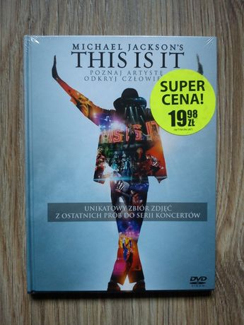 """Michael Jackson's THIS IS IT"" DVD Nowe!"