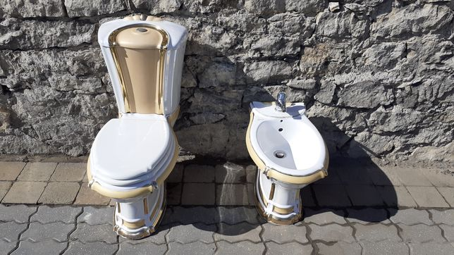 Miska stojąca WC + bidet GSG