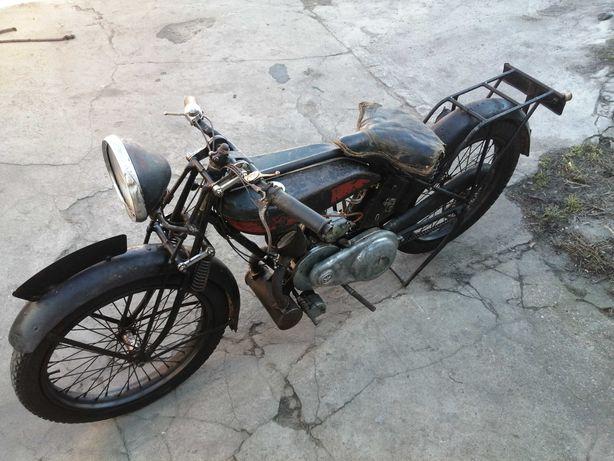Terrot 175 Model L z 1928 zamiana Shl M04 Junak Nsu Dkw Zundapp