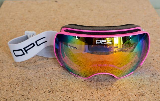 Gogle narciarskie OPC CLASSIC SKI 11 Pink REVO powystawowe