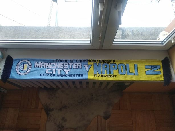 Pamiątkowy szalik Manchester City Napoli