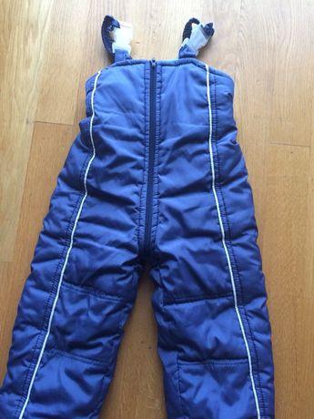 Комбинезон тёплый, штаны осень / зима, 1,5-3 года