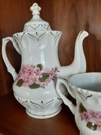 Чайный сервиз на 6 персон, керамика