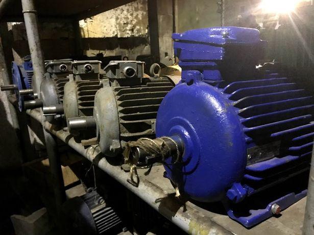 Мотор, неликвид, складского хранения, б/у, как новый, 380, АИР, АО,4АМ