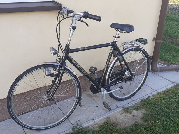 Rower męski rama Gazelle Orange koła 28cali nexus 7 Alu