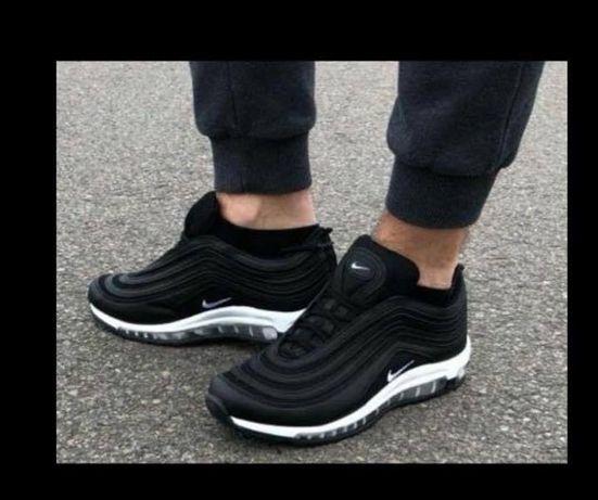 Nike Air Max 97. Rozmiar 41. Kolor czarny-białe logo, Najtaniej