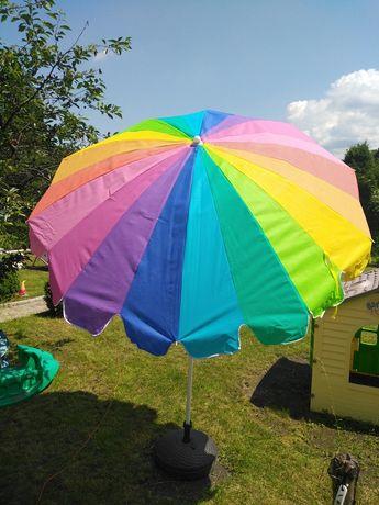 Parasol ogrodowy z podstawą