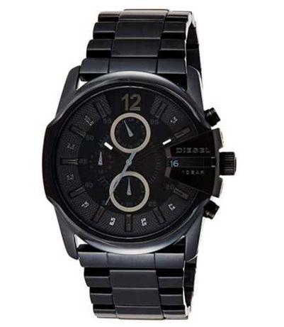 Diesel Relógio masculino de quartzo de aço inoxidável Master Chief