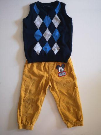 Paka ubrań dla chłopca w 86 92