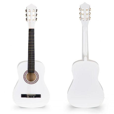 różne kolory Gitara dla dzieci duża drewniana 6 strun ECOTOYS