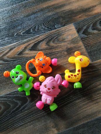 Игрушки-погремушки от 3х мес