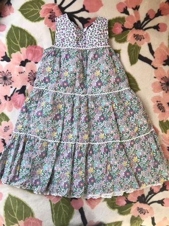 Sukienka dziewczęca rozmiar 116
