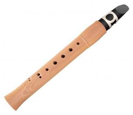Mini clarinete em madeira