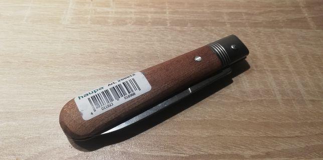 NOWY Nóż monterski z drewnianą rączką HAUPA 200012