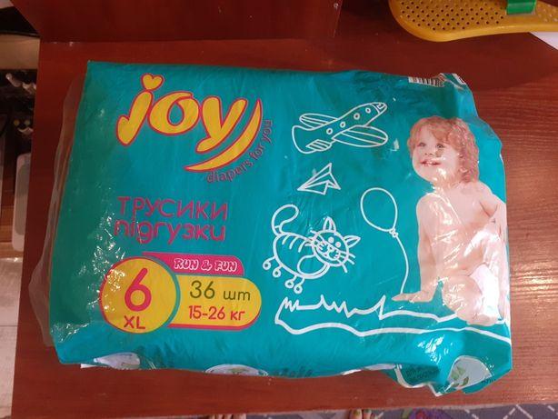 Подгузники-трусики Joy. 6