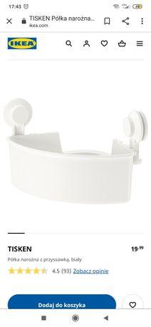 Kosz półka do łazienki Ikea tisken