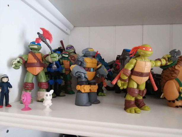 Lote completo tartarugas Ninja