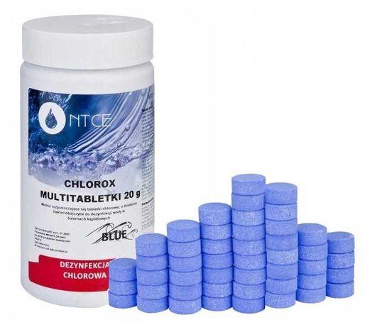 Tabletki multifukcyjne 1kg do basenu chlor