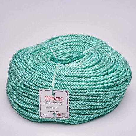 Веревка полипропиленовая 6 мм