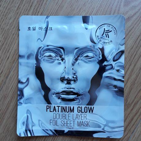 Rozświetlająca metaliczna maska do twarzy w płacie Avon