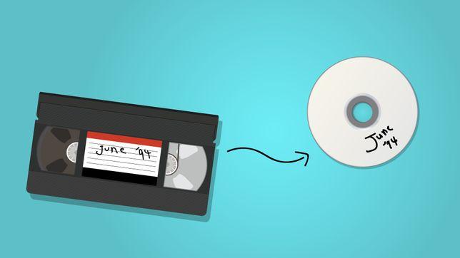 Conversão/Digitalização de VHS/DVD/Camara de Vídeo