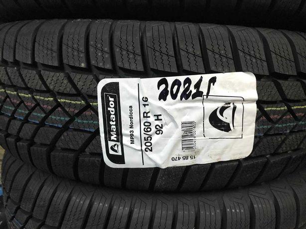 Шины Matador Nordicca 205/60/16' (92Н) MP93  Чехия 2021 г. шини резина