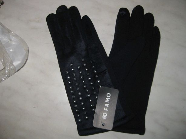 Перчатки утеплённые для сенсорного телефона (см.фото)