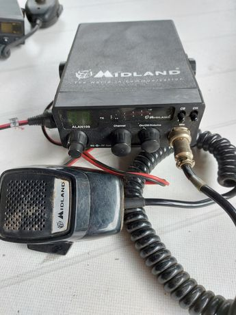 Sprzedam Cb radia K6122 i Alan 109 + antena gratis